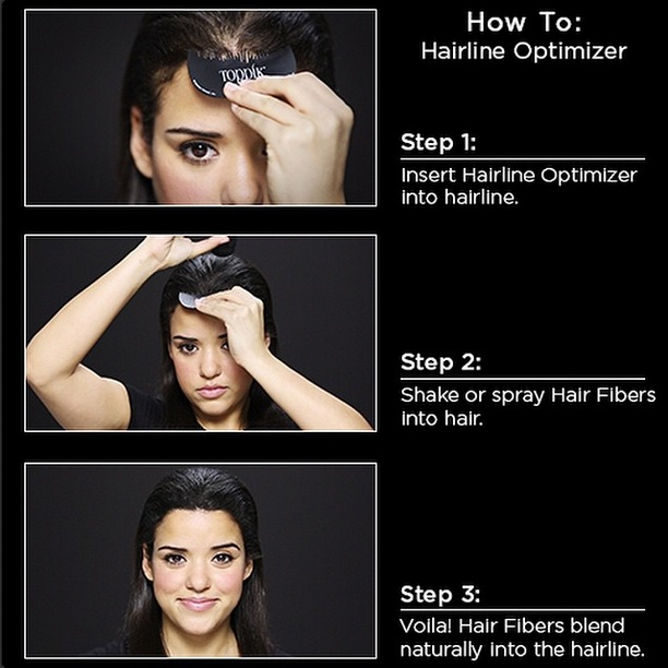 Hair loss concealer optimizer
