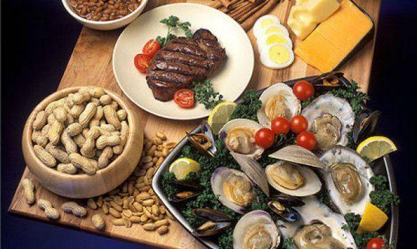 zinc food