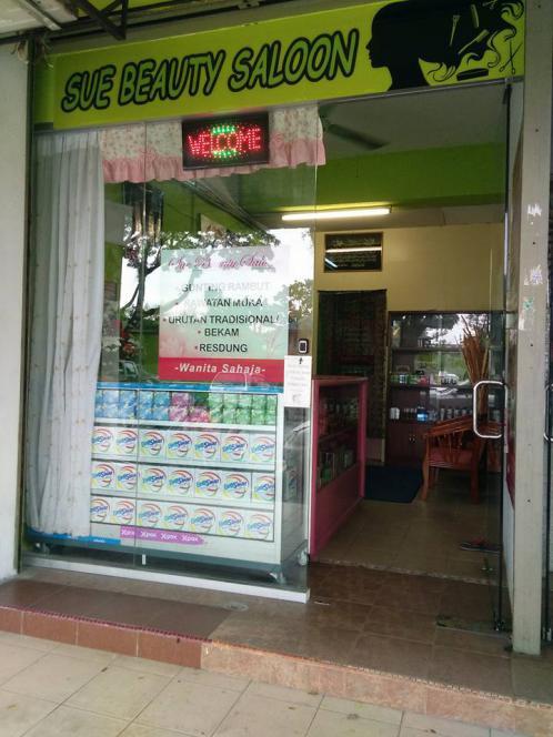 kedai gunting rambut muslimah