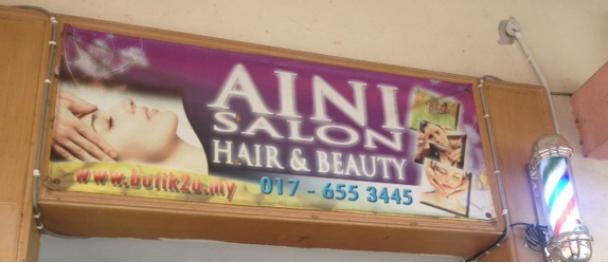 alamanda putrajaya hair salon