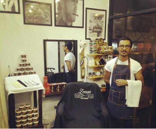 barber shop cheras