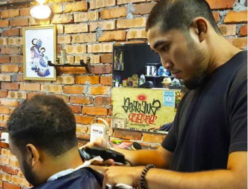 barber shop petaling jaya