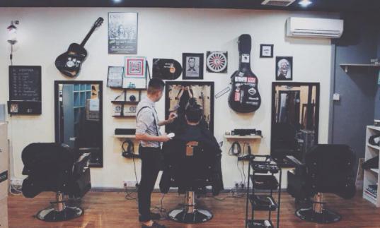 barber shop subang jaya