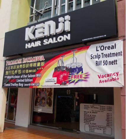 muslimah hair salon seremban