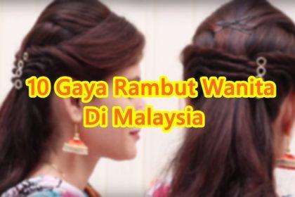gaya rambut perempuan malaysia