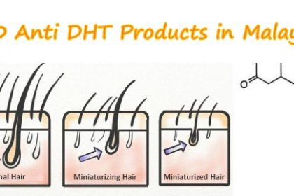 Top 10 Anti DHT Hair Loss Products in Malaysia [DHT BLOCKER