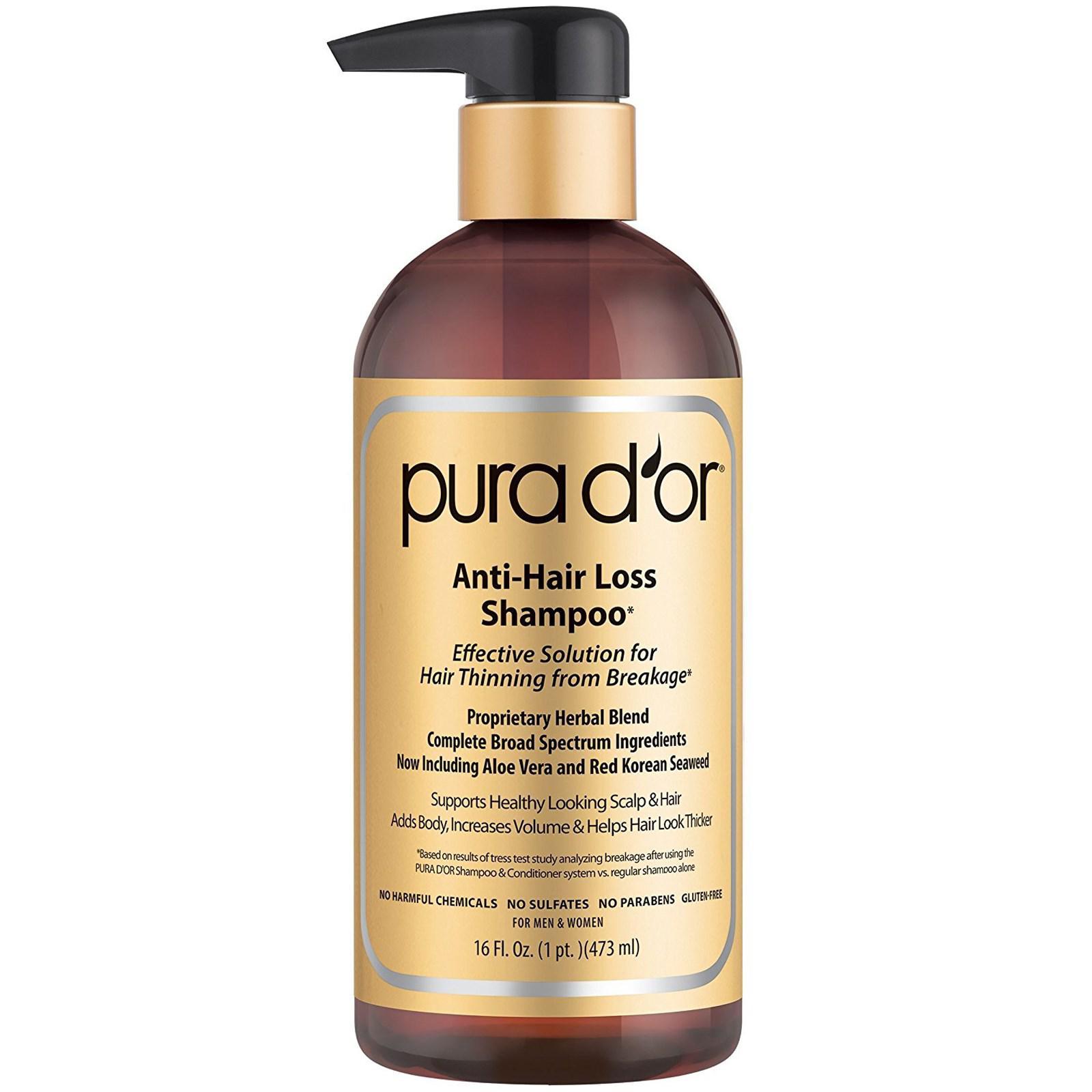 Pura D'or shampoo Malaysia