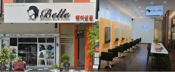 best korean hair salon